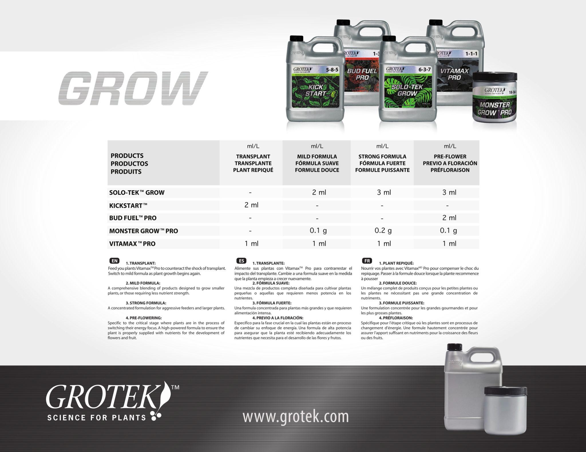 Grotek Grow