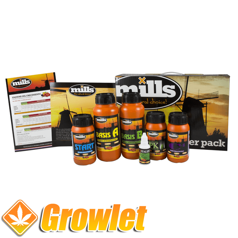 Pack de abonos de Mills Nutrients